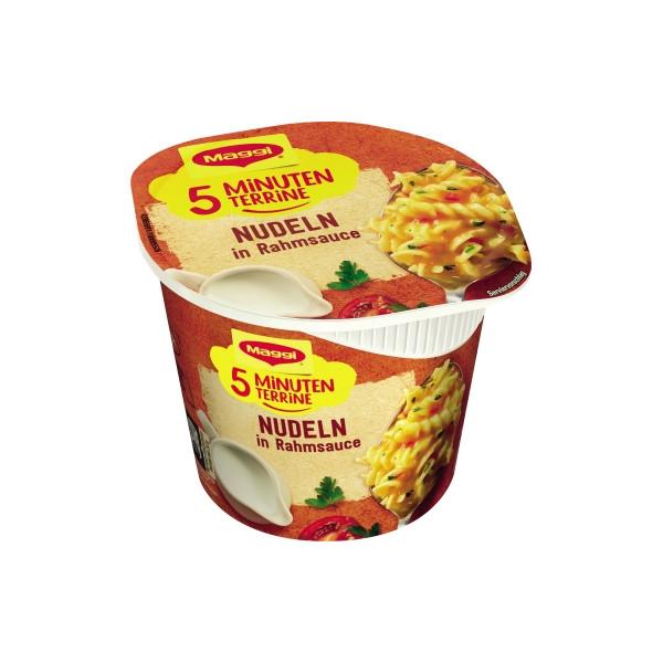 Maggi Gericht 5 Minuten Terrine Nudeln in Rahmsauce 8St.