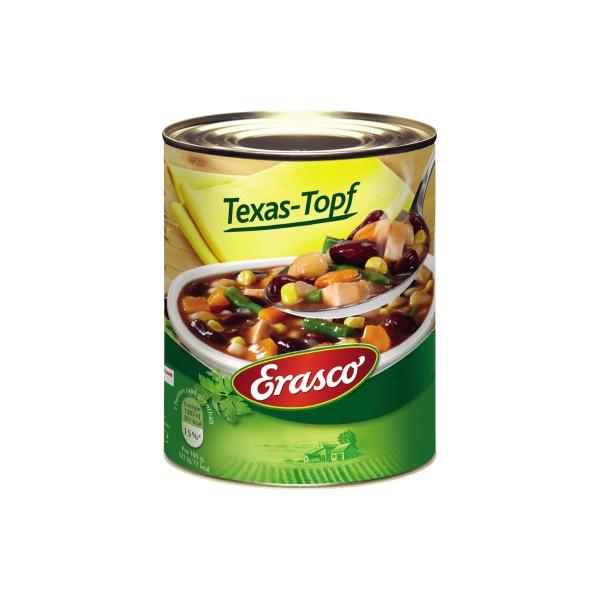 Erasco Fertiggericht Texas Topf 800ml 6St.