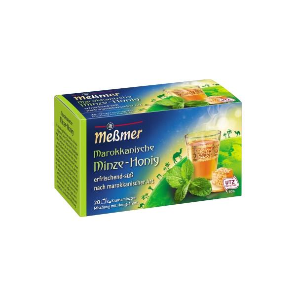 Meßmer Tee Marokkanische Minze Honig 105685 20 St./Pack.