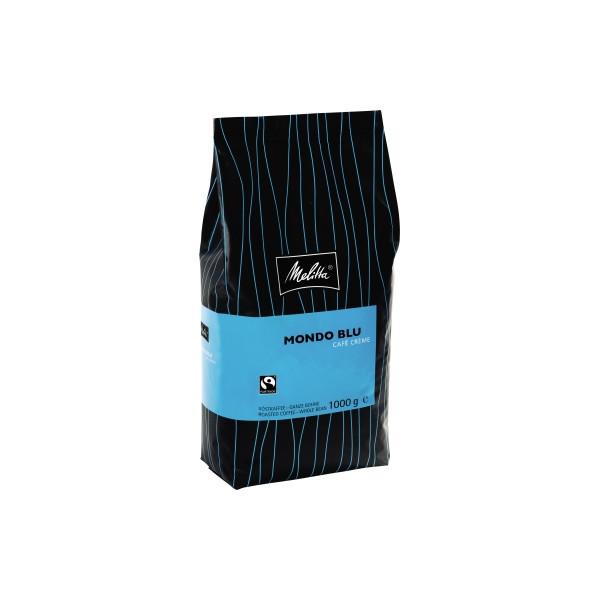 Melitta Kaffee Gastronomie Mondo Blu Cafe Creme 407 Bohne 1.000g