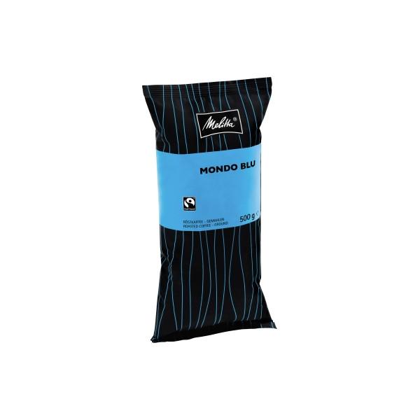 Melitta Kaffee Gastronomie Mondo Blu 408 gemahlen 500g