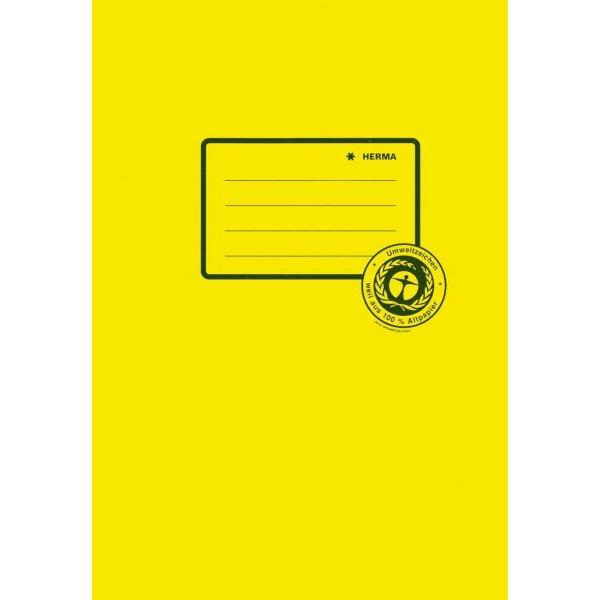 HERMA Heftschoner 5511 A5 Papier gelb